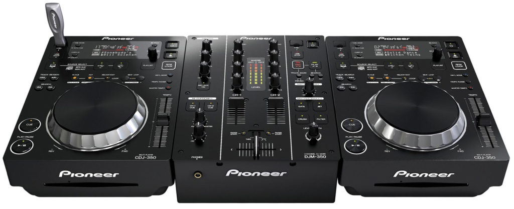 Pioneer dj set - djm350 en cdj350 huren utrecht