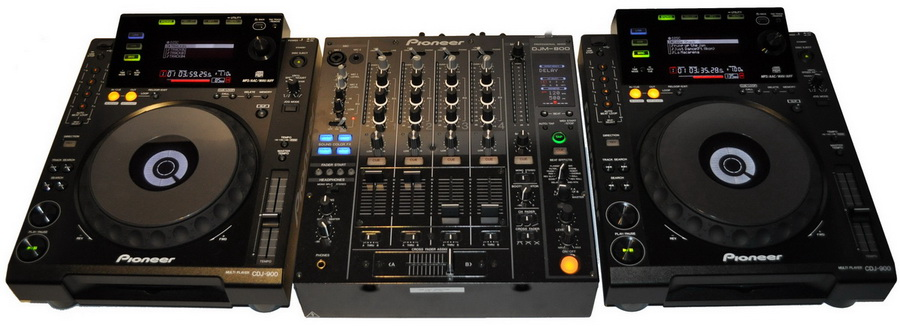 Pioneer dj set - djm800 en cdj900 huren utrecht