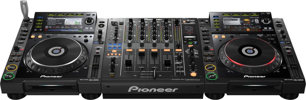 Pioneer dj set - djm900 nexus en cdj2000 nexus huren utrecht